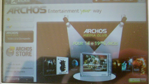 jeux flash archos 605 wifi